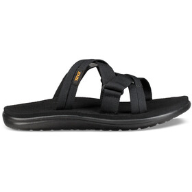 Teva Voya Slide Sandals Dame black